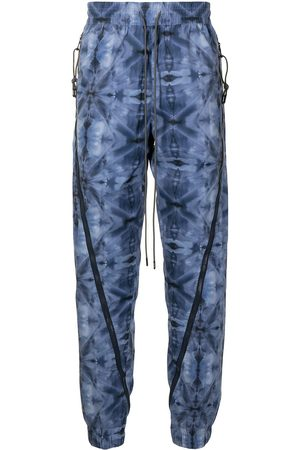 MOSTLY HEARD RARELY SEEN Men Joggers - Kaleidoscope zipped jogging trousers
