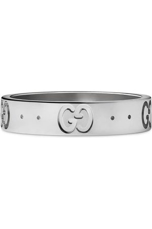 Gucci Women Rings - 18kt white gold Icon band ring