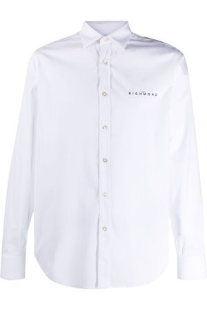 John Richmond Logo-print shirt