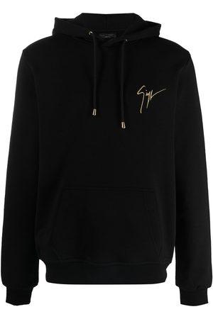 Giuseppe Zanotti Logo-print drawstring hoodie