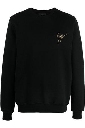Giuseppe Zanotti Logo-print round neck sweatshirt