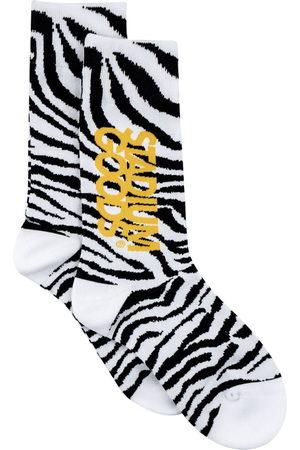 Stadium Goods Zebra-pattern socks