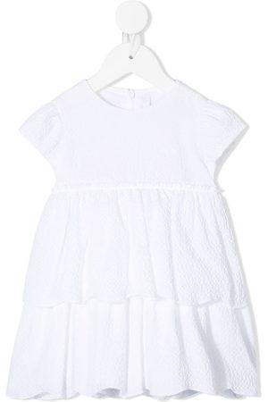 Il gufo Tiered cap sleeve dress
