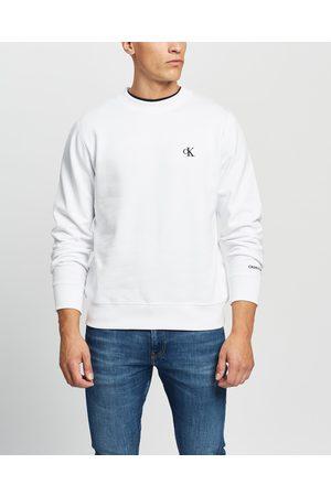 Calvin Klein CK Essential Regular Crew Neck Sweatshirt - Sweats (Bright ) CK Essential Regular Crew Neck Sweatshirt