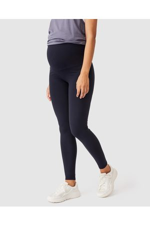 Cotton On Body Active Maternity Core Over Belly Tights - Full Tights (Core Navy) Maternity Core Over Belly Tights