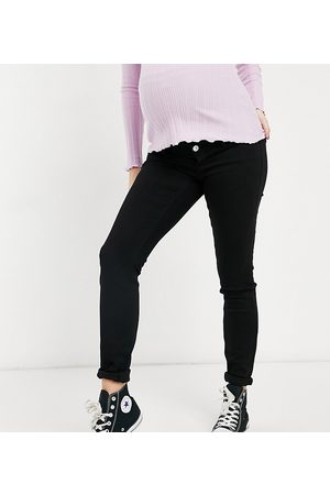 adidas Skinny jeans with bump band in black