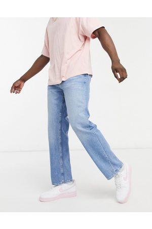 Bershka 90s fit jeans in light