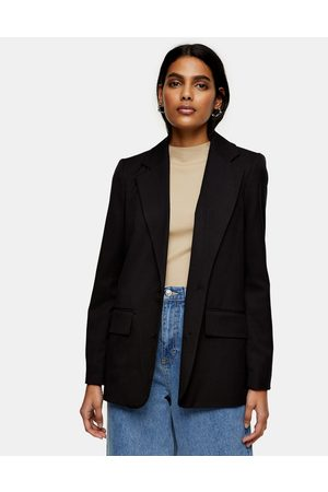 adidas Single-Breasted Suit Blazer in Black