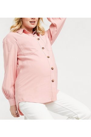 adidas Oversized shirt in pink