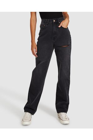 adidas Robin Relaxed Straight Jeans After Dark