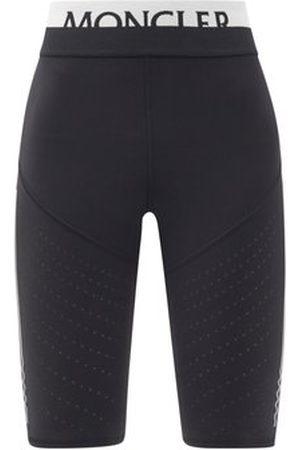 adidas Logo-jacquard Jersey Cycling Shorts - Womens