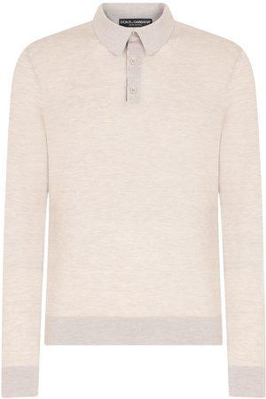 Dolce & Gabbana Men Polo Shirts - Knitted polo shirt