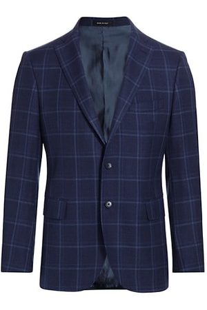 Saks Fifth Avenue COLLECTION Tonal Plaid Sportcoat