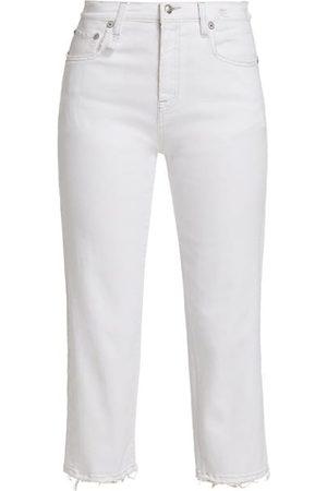 adidas Shelley Slim-Fit Raw-Hem Jeans