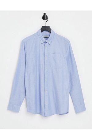 Jack & Jones Essentials oxford shirt in light blue
