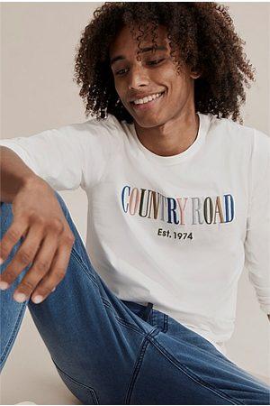 COUNTRY ROAD Kids Short Sleeve - Teen Verified Australian Cotton Heritage T-Shirt - Multi Marshmallow