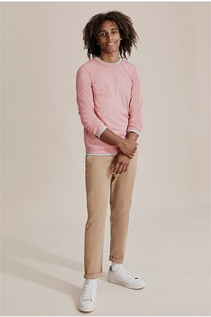 COUNTRY ROAD Kids Short Sleeve - Teen Verified Australian Cotton Heritage T-Shirt - Dust