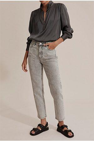 COUNTRY ROAD Australian Cotton High Waist Straight Jean