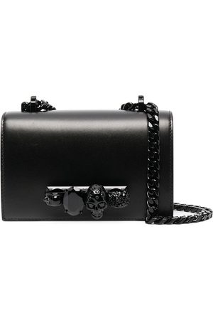 Alexander McQueen Women Shoulder Bags - Mini Jewelled Satchel crossbody bag