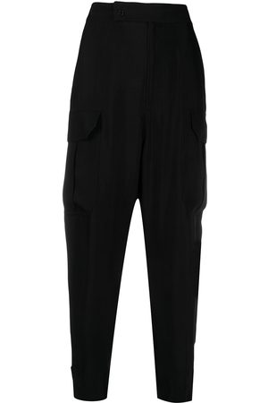 Equipment High-rise tapered trousers