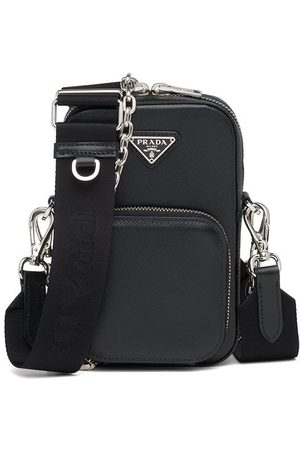 Prada Mini double-compartment shoulder bag