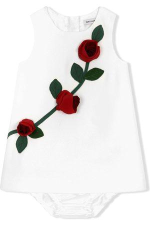 Dolce & Gabbana Rose appliqué tank top