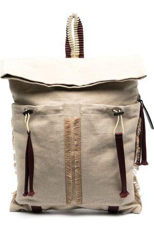 Camper Lab Backpacks - Large fringed trim backpack