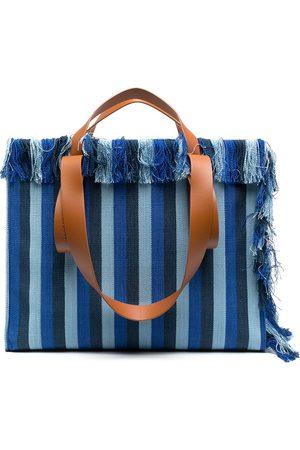 Camper Lab Spandalones striped tote bag