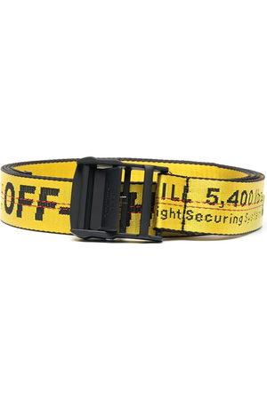 OFF-WHITE Belts - Jacquard logo Industrial belt