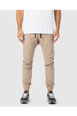 Zanerobe Sureshot Joggers - Pants (Sandstone) Sureshot Joggers