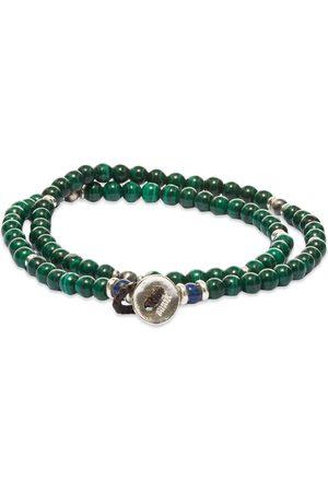 Mikia Double-Wrap Beaded Bracelet