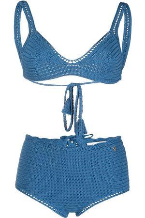 VALENTINO Women Bikinis - Knitted style bikini set