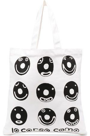 10 CORSO COMO Graphic logo print tote bag