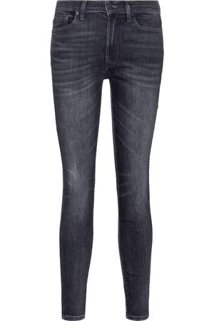 7 for all Mankind Slim Illusion high-rise cropped skinny jeans