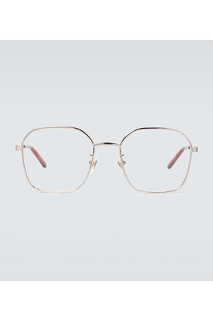 Gucci Metal frame glasses