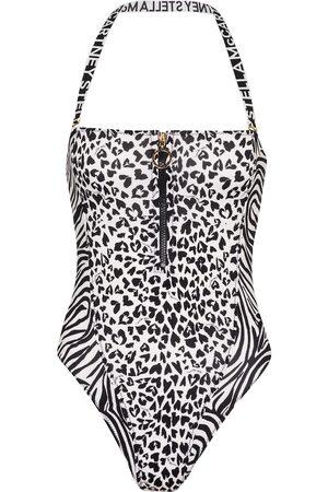 Stella McCartney Animal-print swimsuit