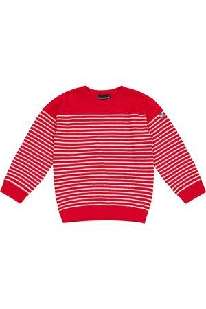 Emporio Armani Striped cotton sweater