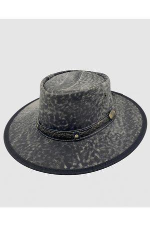 Jacaru Hats - 1133 Roo Nomad Traveller Hat Stonewash - Hats 1133 Roo Nomad Traveller Hat Stonewash