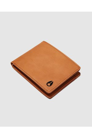 Nixon Cape Leather Wallet - Wallets (Saddle) Cape Leather Wallet