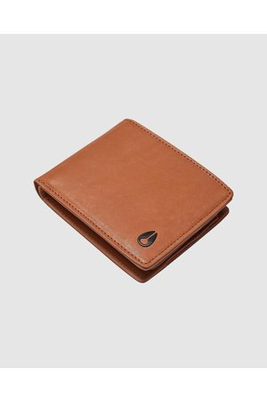 Nixon Pass Leather Wallet - Wallets (Saddle) Pass Leather Wallet