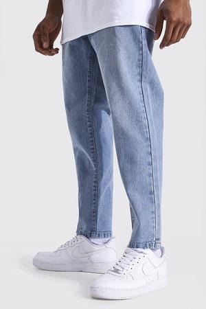 Boohoo Mens Light Tapered Fit Rigid Jean