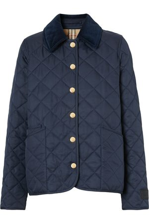 Burberry Quilted long-sleeve jacket