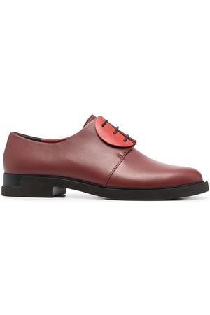 Camper Two-tone leather oxford shoes