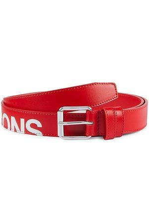 Comme des Garçons Huge Logo Leather Belt