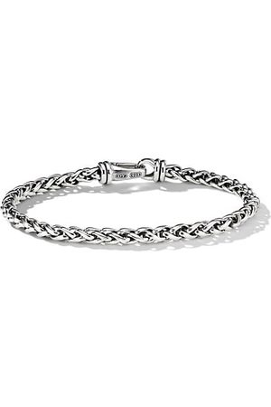 David Yurman Chain Sterling Wheat Bracelet