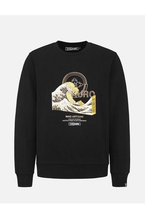Evisu 3D Ukiyo-E Foil Print Sweatshirt