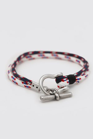 Boohoo Mens Multi Rope Bracelet With Toggle Detail