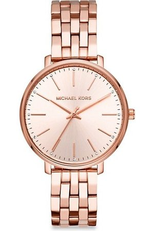 Michael Kors Watches - Pyper Three-Hand Rose Goldtone Stainless Steel Watch