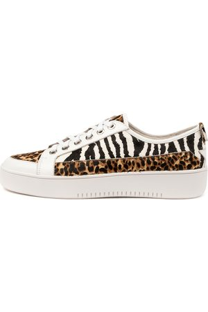 Django & Juliette Laci Dj Tan Cheetah Sneakers Womens Shoes Casual Casual Sneakers