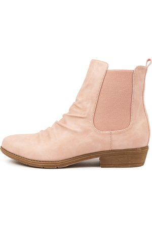 I LOVE BILLY Women Ankle Boots - Rufuser Nude Boots Womens Shoes Casual Ankle Boots
